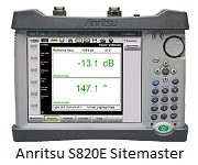 Anritsu S820E Microwave Site Master™ Cable & Antenna Analyzer