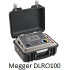 Megger DLRO 100 Series Digital Microhmmeters