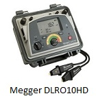 Megger DLRO10HD Digital Low Resistance Ohmmeter