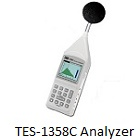 TES-1358C Acoustic Analyzer