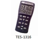 TES-1316 Digital Thermometer with USB