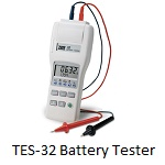 `TES-32 Battery Capacity Tester